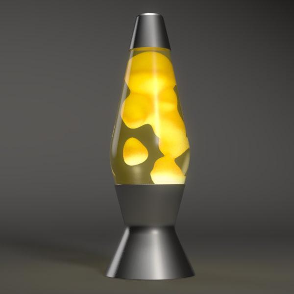 Lava Lamps 70s 3ds max lavalamp lava