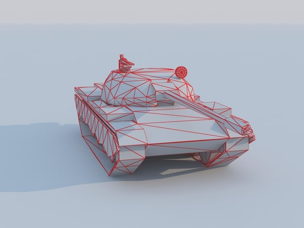 type 69 battle tank 3d model - Type 69 tank of China... by Dragman