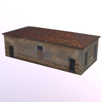 dxf old brick building