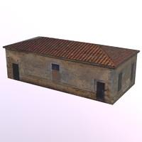 dxf old brick building