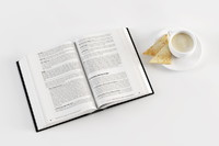 Opened Book Coffee Toast