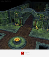 3d ma hand painted dungeon starter