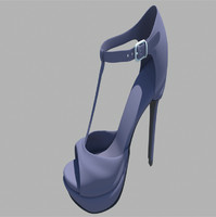 woman shoe obj