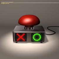 3d model buzzer