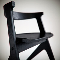 3d slab chair