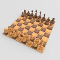 obj wobble chess set