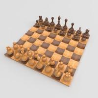 obj wobble chess set