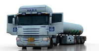 Truck Scania Tanker