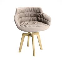 3ds max armchair mdf italia