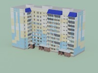 3d low-polygonal building games