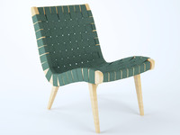 3d risom lounge chair