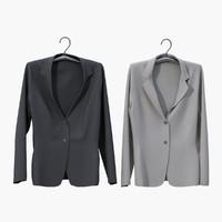 realistic jacket hanger 3ds