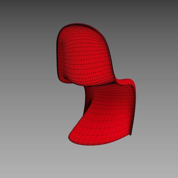 3d vitra panton chair model - Vitra Panton Chair... by robstranges