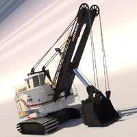 3ds shovel bucyrus 495hr