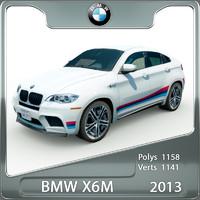 3d bmw x6m 2013