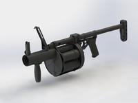 40mm 6G30 grenade launcher