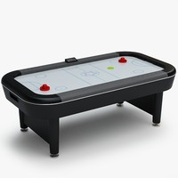 3ds max air hockey
