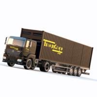 Mercedes Axor Europe Cargo