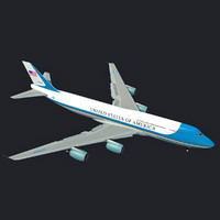 3d max boeing air force vc-25
