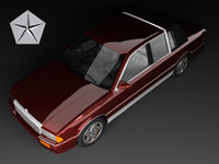 chrysler lebaron landau sedan 3d max