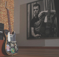 3d model joe strummer fender telecaster