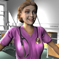 maya female medical staff