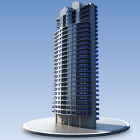 3d residential building