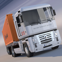 3d renault magnum containers o