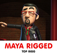maya comediant rigged animators