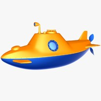 lightwave cartoon submarine