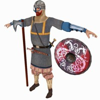 viking varangian guard 3d 3ds