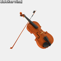 3d model standard violin