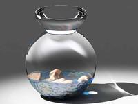 maya glass jar