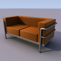 3ds max sofa armchair