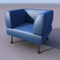 3ds sofa armchair