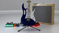Ibanez - Jem Blue Guitar