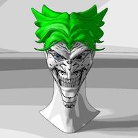 3d model joker