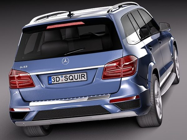 3dsmax mercedes benz mercedes-benz gl - Mercedes-Benz GL-Class 2013... by squir