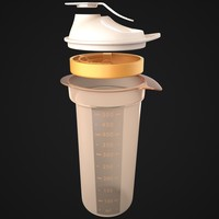 3ds max tupperware tumbler - bottle