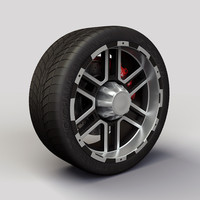 Wheel Alloy Ion 179 rims and tyre