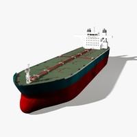 tanker sea 3d c4d