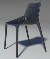 3d model of chair outline leather 2013