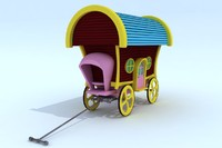 3d carriages model