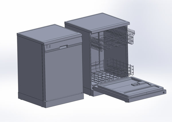 dishwasher dish washer 3d 3ds - Dishwasher... by N.DESIGN