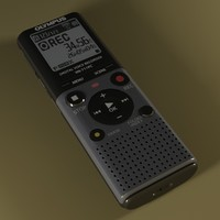 Olympus VN-712PC-E1 Digital Voice Recorder Gray/ Black