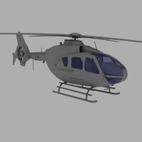 Eurocopter EC-135 Light Helicopter Game