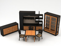 furniture set model