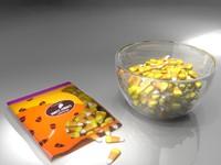 3dsmax candy corn