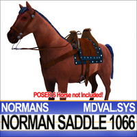 Medieval Norman Saddle Bridle Harness 1066