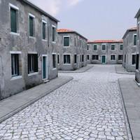3d model italian building
